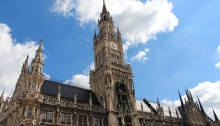Marienplatz. Munich, Germany