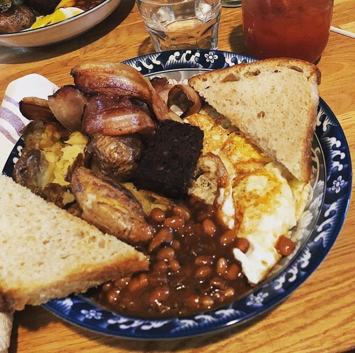 The full English Breakfast from The Hole in the Wall